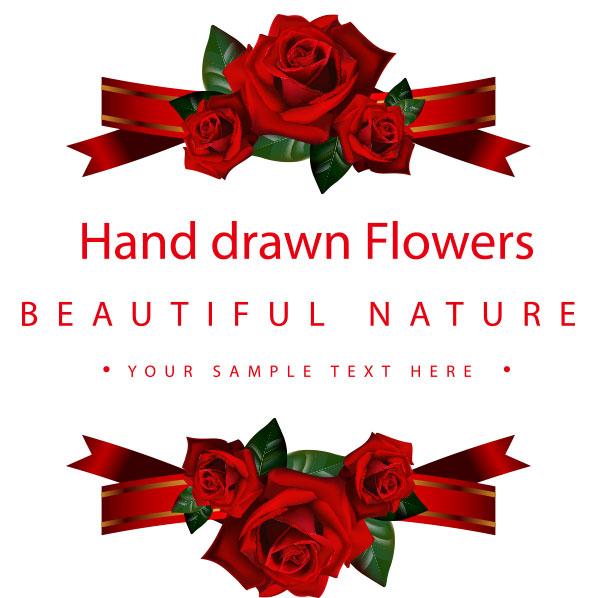 H5素材-爱情-爱心-玫瑰-结婚请柬-婚礼-封面
