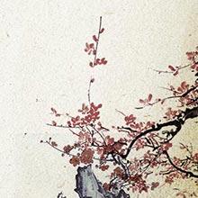 中国风-水墨-梅花-山水-H5素材