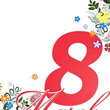 3.8-女神节-妇女节-节日素材-H5素材-花纹-花卉