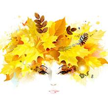 3.8-女神节-妇女节-节日素材-H5素材-花瓣-叶子