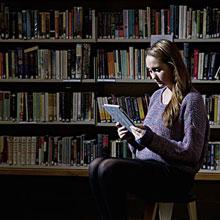 情感-读书-图书馆-文艺-H5素材