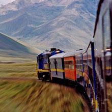 情感-火车-旅程-旅途-山峦-H5素材