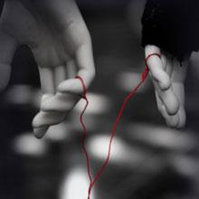 情感-红线-情侣-爱情-H5素材