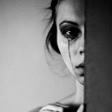 情感-哭泣-离别-伤心-心碎-H5素材