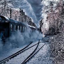 情感-火车-铁轨-旅程-旅途-风景-H5素材