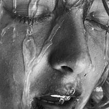 情感-悲伤-哭泣-淋雨-H5素材