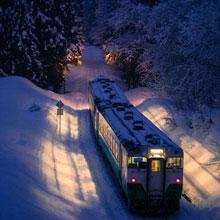 情感-火车-原野-雪地-旅程-旅途-H5素材