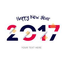 2017新年标题-H5素材